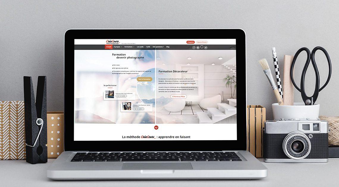 nouveau site creacours.com