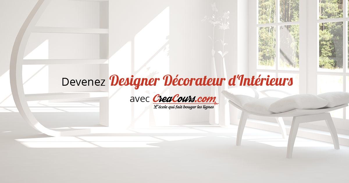 Designer décorateur dintérieurs formation déco par créacours