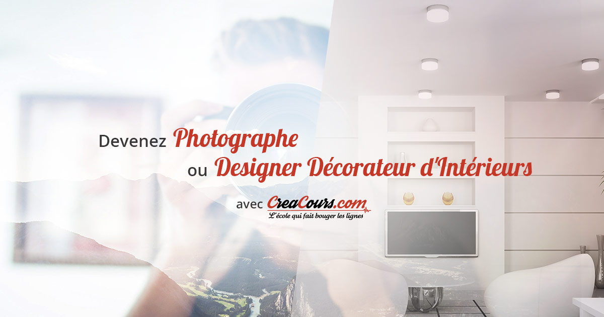 Créacours spécialiste de la formation photo et déco en ligne